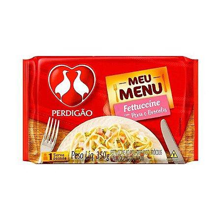 Fettucine com Peru E Brócolis Perdigão  350g