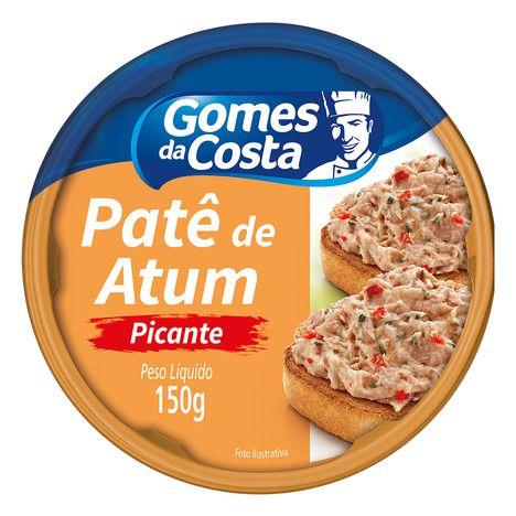 Patê De Atum  Picante Gomes Da Costa 150g