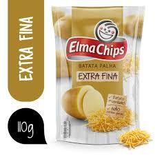 Batata Palha Extra Fina Elma Chips 100g