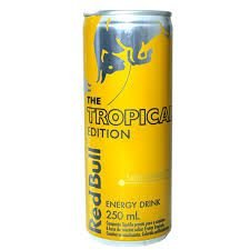 Energético Red Bull Energy Drink The Tropical Edition - 250ml