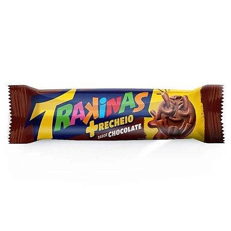 Trakinas Recheado mais Chocolate 126g