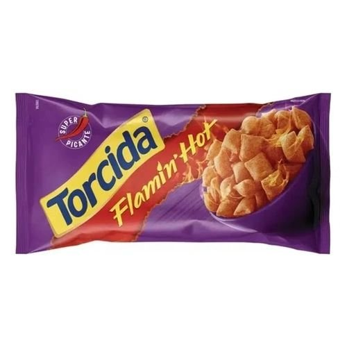 Salgadinho Torcida sabor Flamin´ Hot  70g