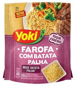 Farofa Com Batata Palha Yoki 200g