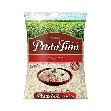 Arroz Prato Fino Branco 1Kg