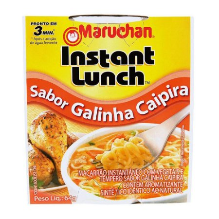 Maruchan Instant Lunch Sabor Galinha Caipira 64g