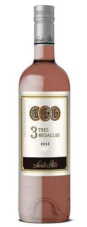 Vinho Rose 3 Tres Medallas Santa Rita