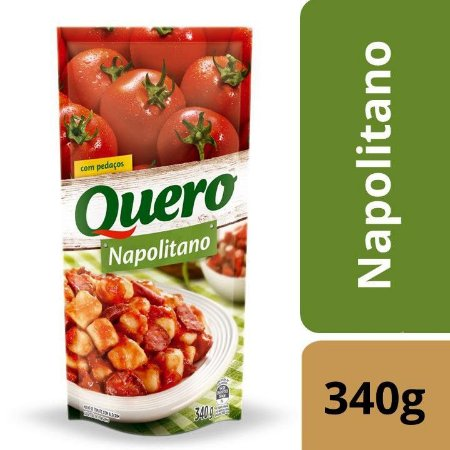 Molho de Tomate Quero Napolitano 340g