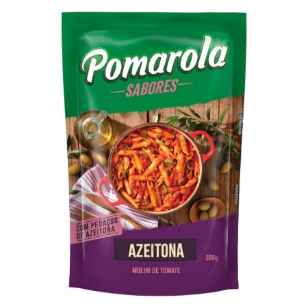 Molho Pomarola Azeitona 300g