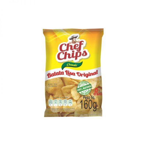 Batata Lisa original Chef Chips Classic 160g
