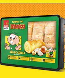 Pão de Cebola Santa Massa Turma da Monica 400g