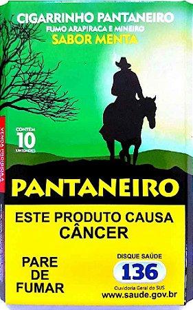 Fumo de Palha Pantaneiro Sabor Menta
