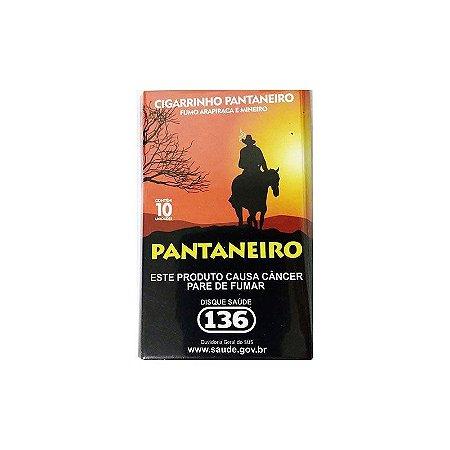 Cigarrinho Pantaneiro Fumo Arapiraca e Mineiro Contém 10un