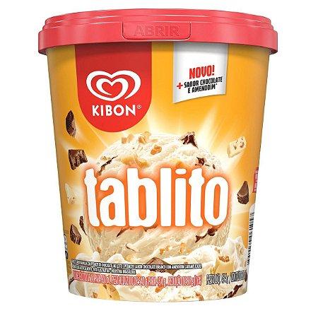 Sorvete Kibon Tablito pote 800ml