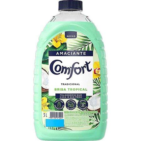Amaciante Comfort Brisa Tropical 3l