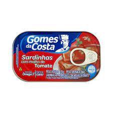 Sardinhas com Molho De Tomate