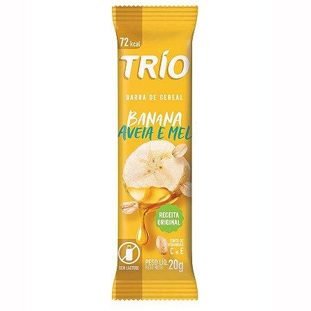 Barra de Cereal Trio Banana Aveia e Mel 20g