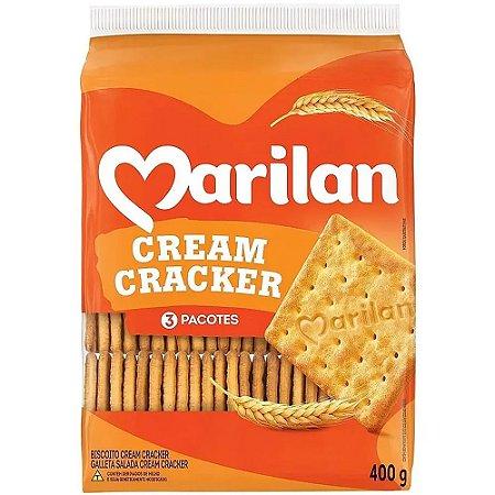 Biscoito Marilan Cream Cracker 400g