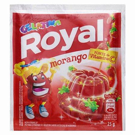 Gelatina Royal Sabor Morango 25g