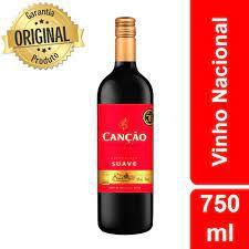 Vinho Canção Tinto Suave 750ml