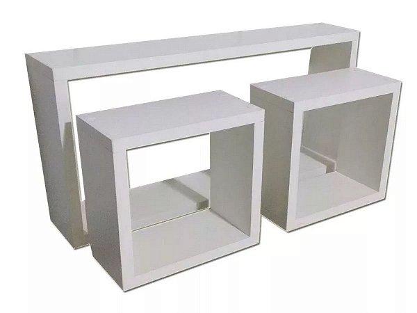 Kit Trio De Nichos -50x25x10/ 20x20x10/ Pronta Entrega