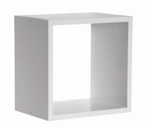 Nicho 30x30x15 Cm-100%mdf 15mm Branco-decorativo Quarto Bebe