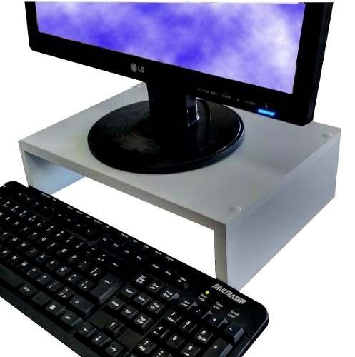 Suporte Base para monitor em MDF 35Lx12Ax25P