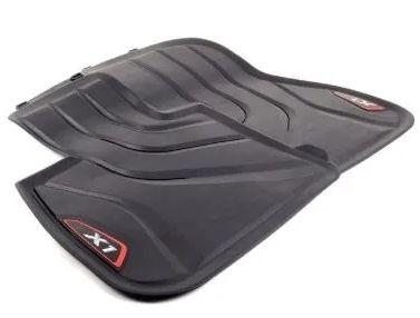 Tapete em borracha Traseiro  (Vermelho)- BMW X1