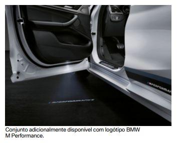 Projetora de Porta em LED - BMW X3/X5