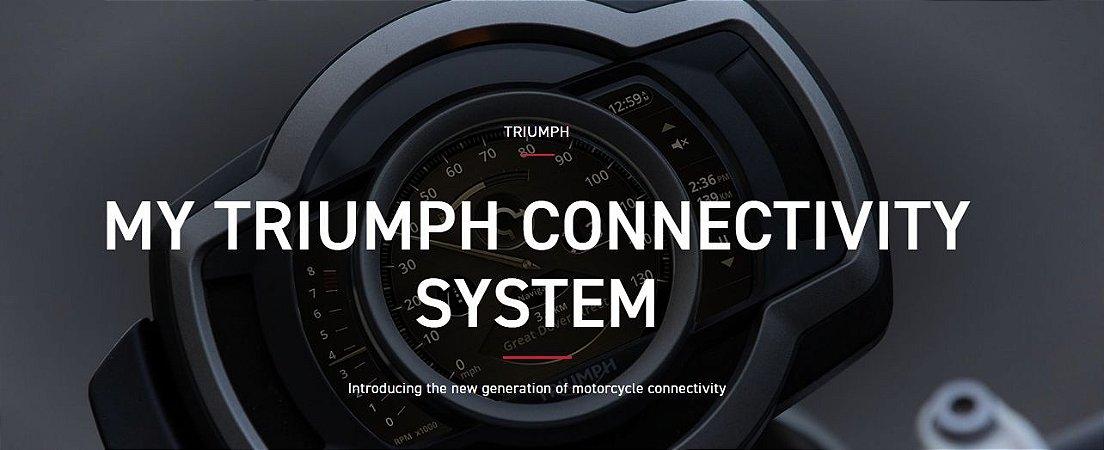 My Triumph - Conectividade via Bluetooth - Tiger 900, Tiger 800, Rocket3, Scrambler1200, Street Triple RS