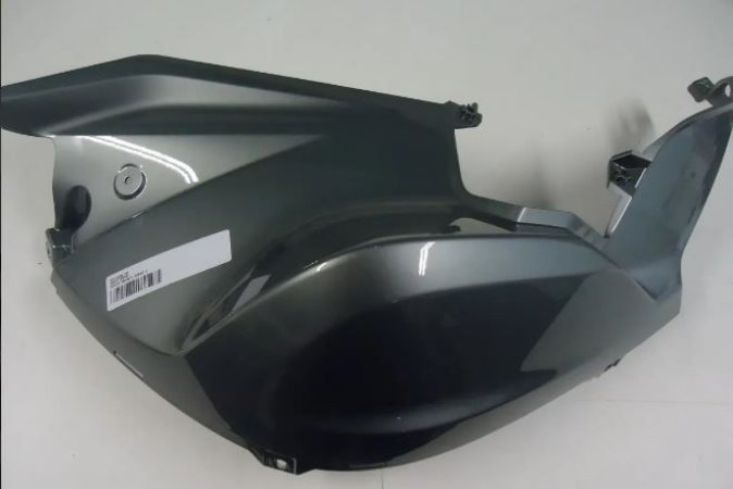 Revestimento Lateral Esquerdo F800R Cinza Metalico