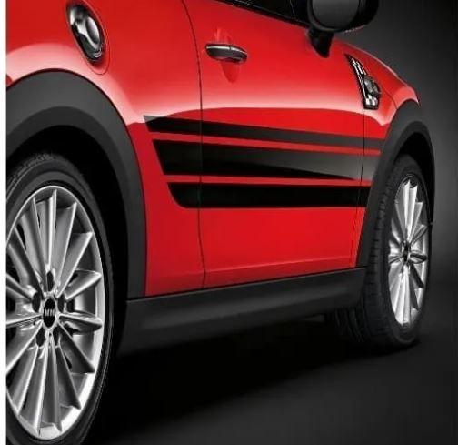 Faixa Decorativa Auto Adesiva Bmw/mini Cooper