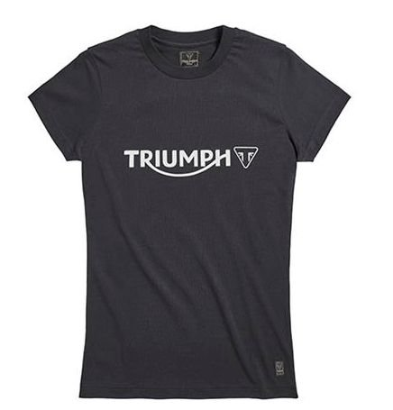 T- Shirt Melrose Black Ladies - Feminina