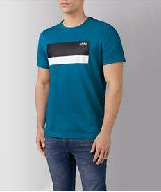 T-Shirt MINI Color Block Wordmark