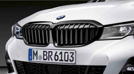 Grade BMW M Black - 320 - Sem assistente de estacionamento