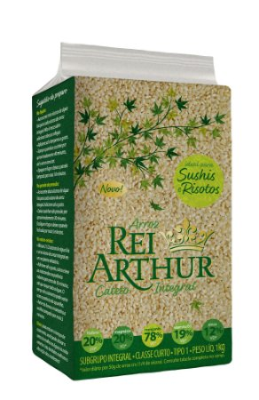 Arroz Rei Arthur Cateto Integral 1kg
