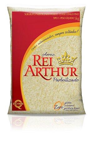 Arroz Rei Arthur Parboilizado 5kg
