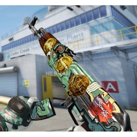AK-47 Skin Serpente de Fogo