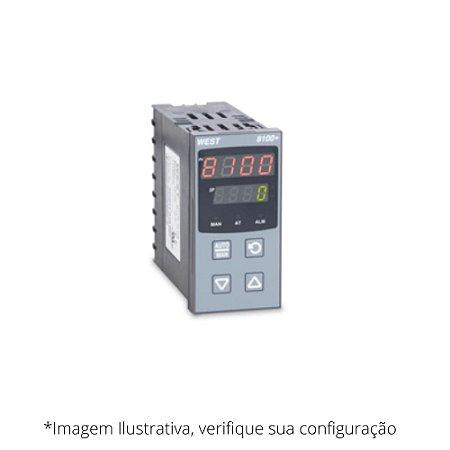 P8100+ Controlador de Temperatura e Processos WEST