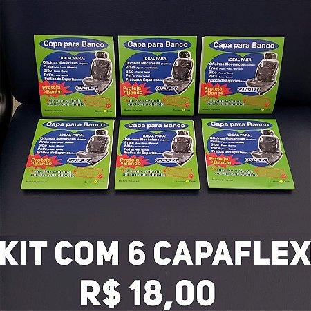 KIT COM 6 CAPAFLEX