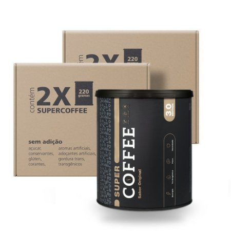 Pack 2x - SuperCoffee 220G