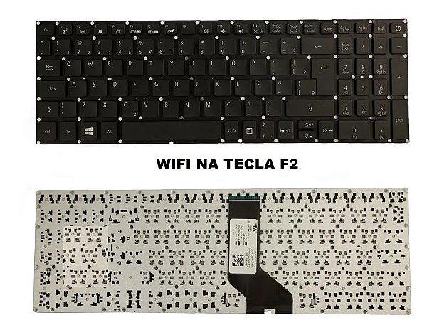 Teclado Acer Aspire 3 A315-53 A315-53-p884 Br Wifi F2