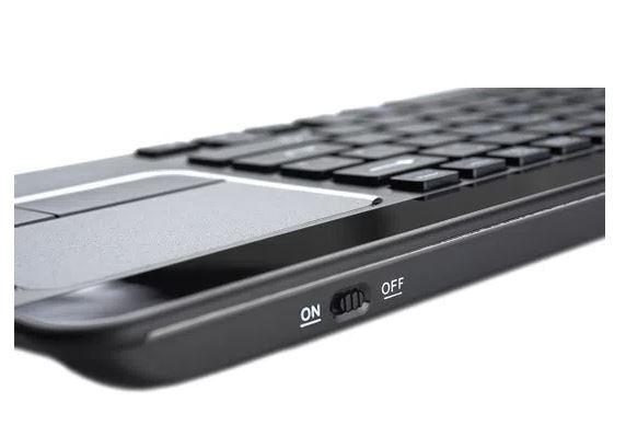 Teclado Premium Sem Fio Touchpad - GOLDENTEC