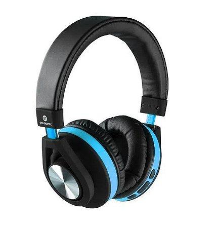Headphone Bluetooth GT Follow Goldentec Azul (GT5BTAZ)