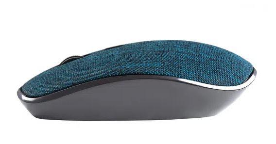 Mouse Sem Fio Goldentec 1200DPI  GTMO1 - em Tecido Azul