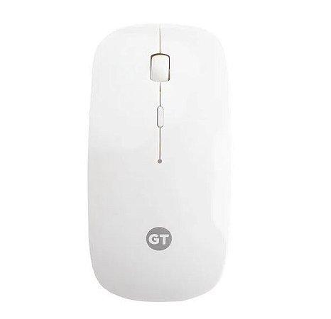Mouse Óptico - Sem Fio USB  - Goldentec GT WSL - Branco