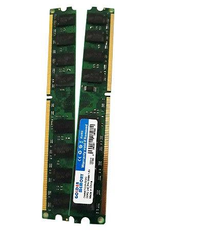 Memória Desktop - DDR2 2GB / 667MHZ  5300MB/S 2GB 1.8V