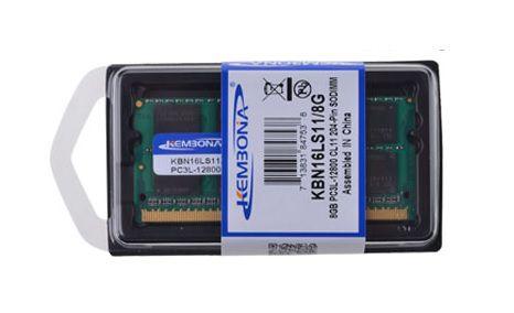 Memória de Notebook - DDR3 - PC3L- 8Gb - Kembona - 1.35 V  12800S