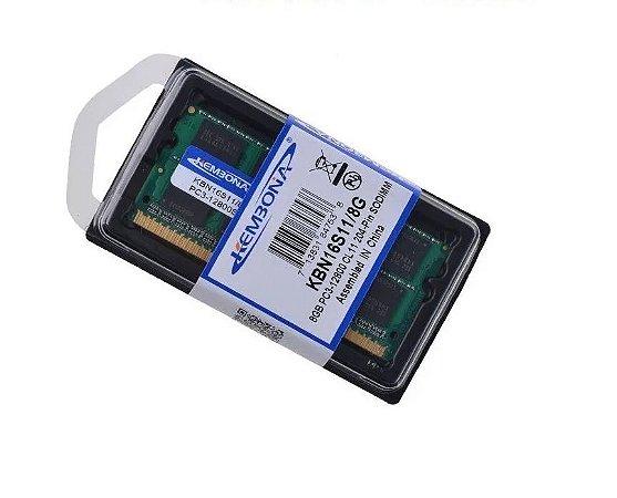 Memória de Notebook - Ddr3 - 8gb - 1600MHZ 12800MB/S- 1.5 V