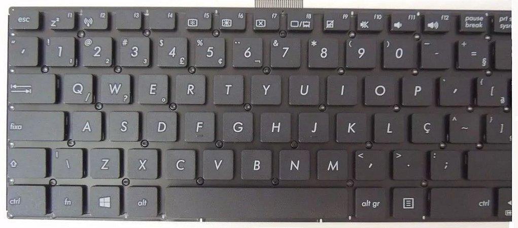 Teclado Para Notebook Asus X550ca X550c X750ja X552e X550L Com Ç