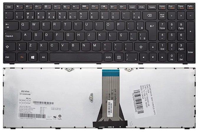 Teclado Notebook Lenovo G50-80 300-15ISK com Ç